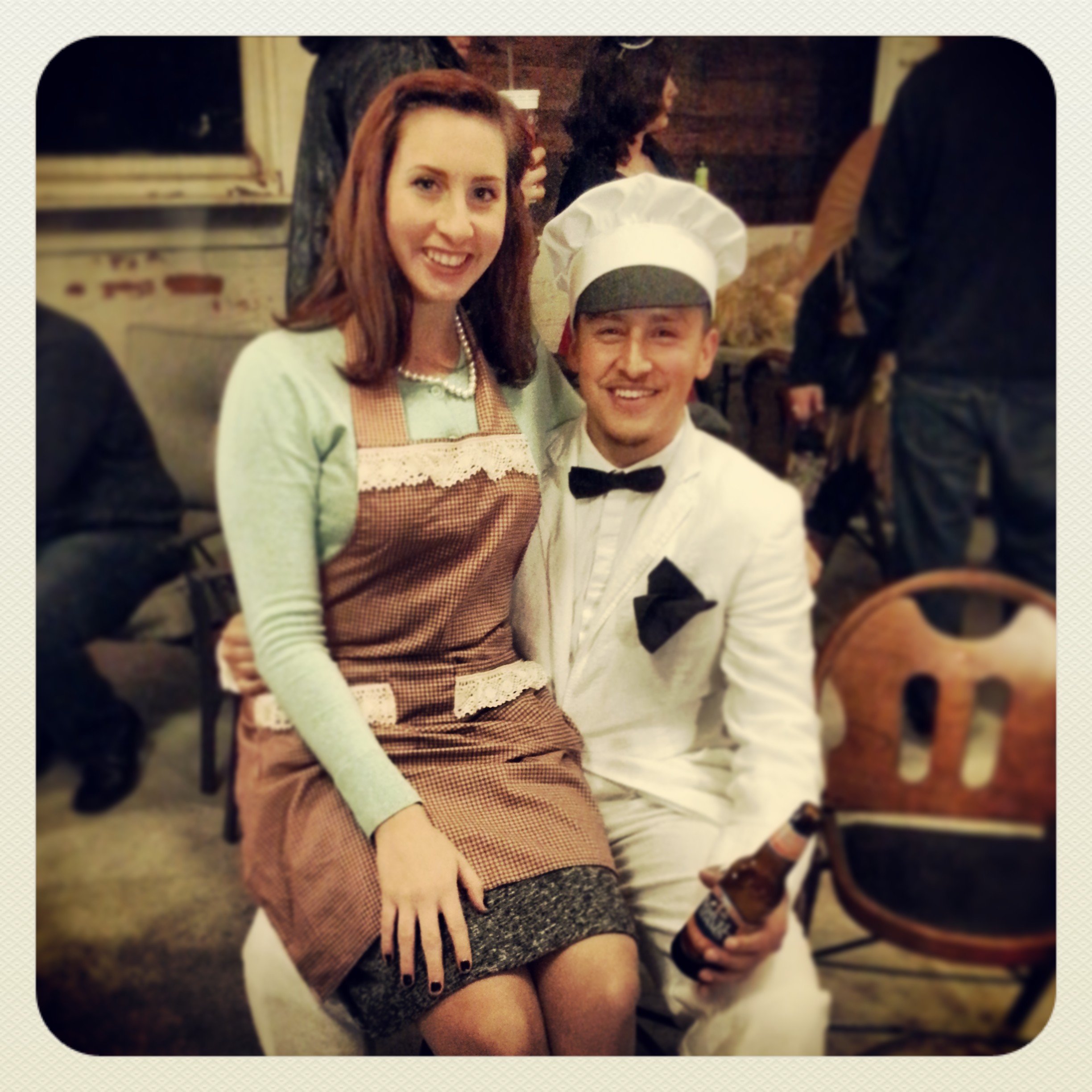 50s housewife and the milkman halloween 2013